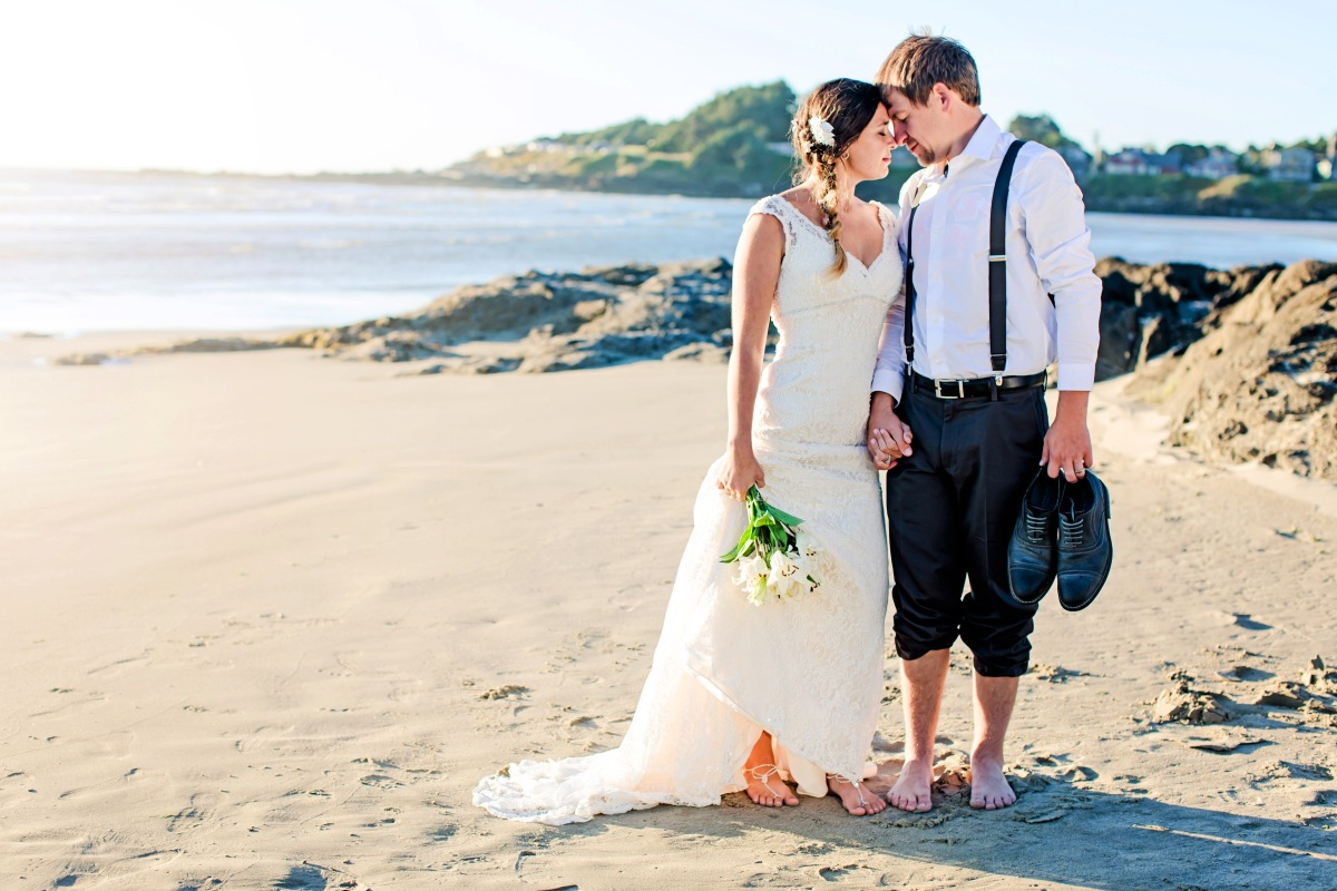 #beachwedding, #capturingessencephotography #barefootwedding